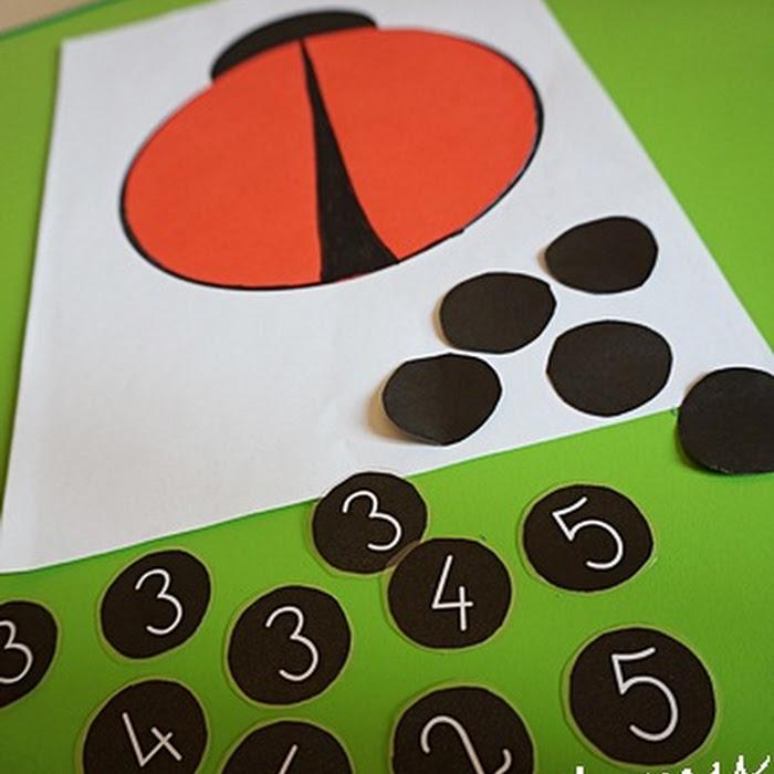 Biedroneczki są w kropeczki czyli matematyka na wesoło ...