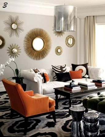 Statement Piece Add A Like Bright Orange Chair Or Side Table
