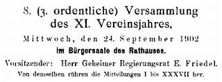 Brandenburgia. Monatsblatt der Gesellschaft für Heimatkunde der Provinz Brandenburg zu Berlin. XI. Jahrgang 1902 1903. Berlin 1903, S. 260