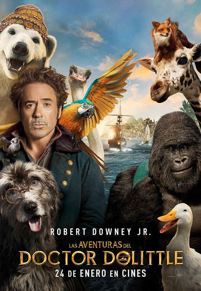 Dolittle (2020) Dual Audio Hindi 720p BluRay 800MB ESubs
