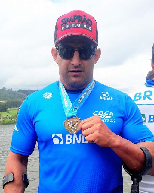 Equipe brasileira paralímpica de  canoagem conquistou 1º lugar no Sul Americano e garantiu vaga para o Mundial