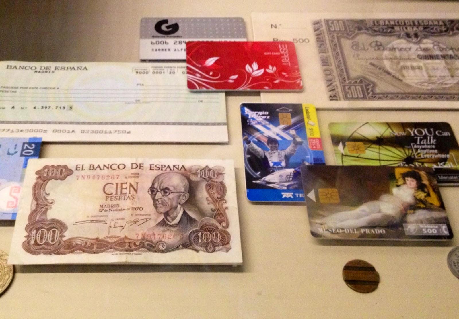 Dinero - Evolución del dinero - Museo Arqueológico Nacional - MAN - Madrid el troblogdita
