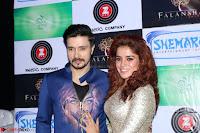 Pia Bajpai and Darshan Kummar Launching the Music of movie Mirza Juuliet 018.JPG