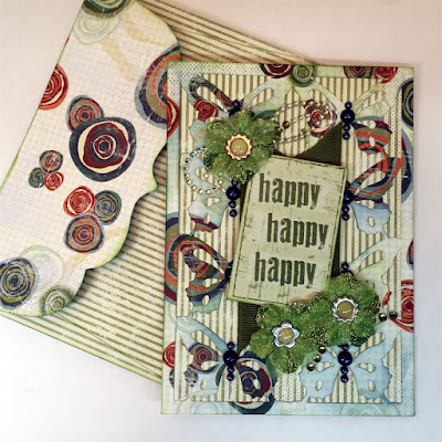 Happy Happy Happy card featuring Earth Wind Fire designed by Alicia O'Bryant for Quick Quotes