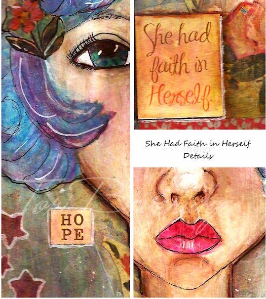 She Had Faith In Herself by Tori Beveridge