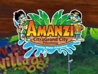 Tiket Masuk Dan Wahana Amanzi Waterpark Palembang