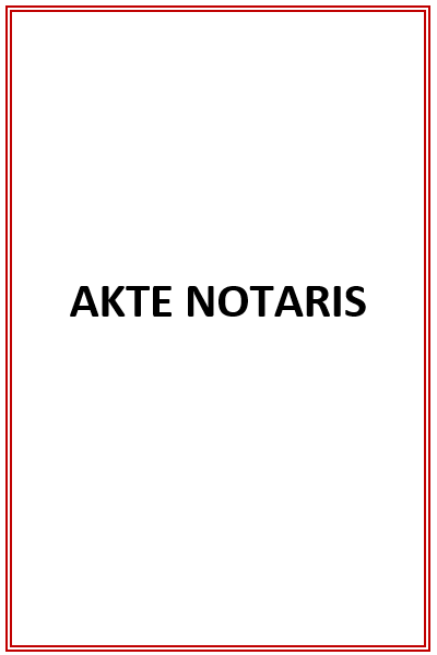 Akte Notaris