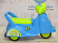 Ride-on Car Pliko PK229 EZ Play Motorcycle Keeping