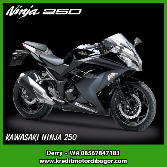 Kredit Motor Kawasaki Ninja 250 di Bogor