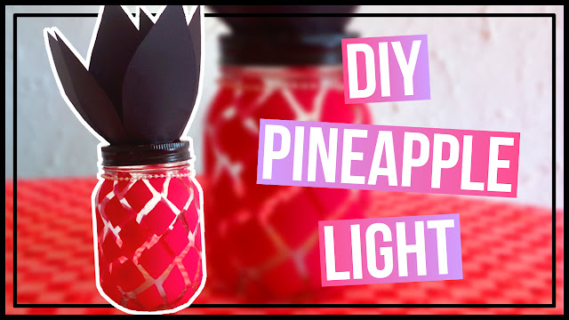 DIY Pineapple Light