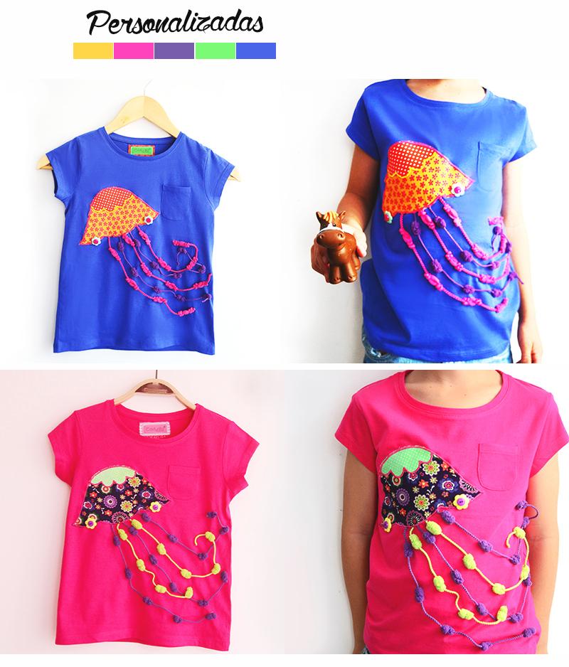 camiseta personalizada medusa