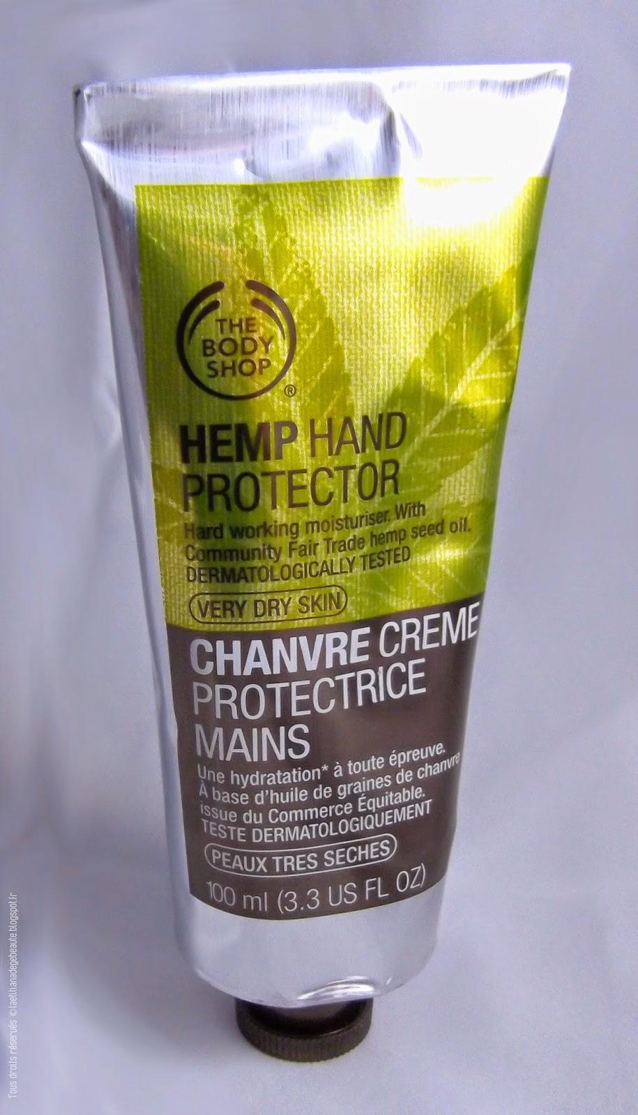 THE BODY SHOP  Coffret Soins Hydratants gamme Chanvre Crème mains