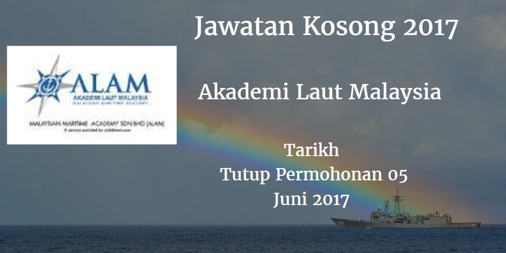 Jawatan Kosong ALAM 05 Juni 2017