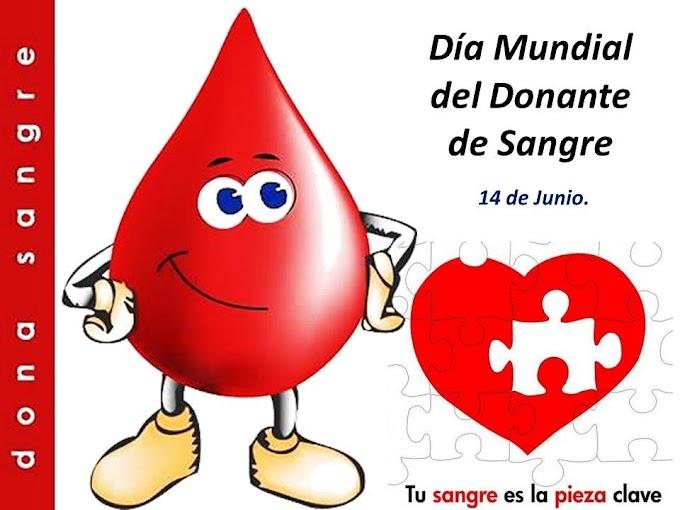 14 de junio: Día Mundial del Donante de Sangre