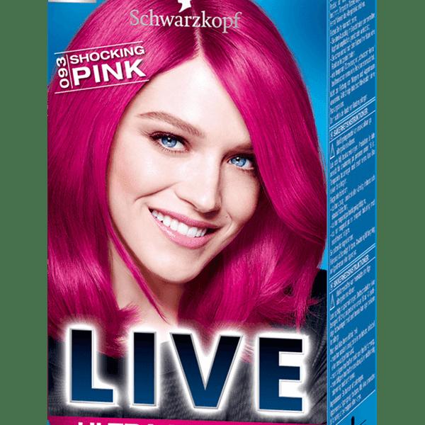 Recenzja farby Schwarzkopf LIVE Ultra Brights or Pastel - różowa