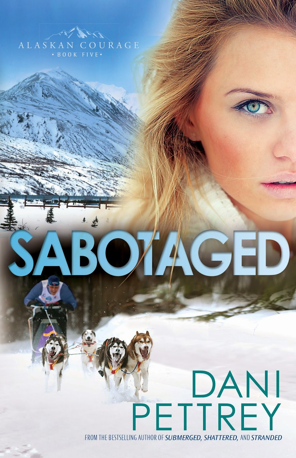 'SABOTAGED,' BY DANI PETTREY. Thoughts and review on the final Alaskan Courage novel. All review text is © Rissi JC / RissiWrites.com