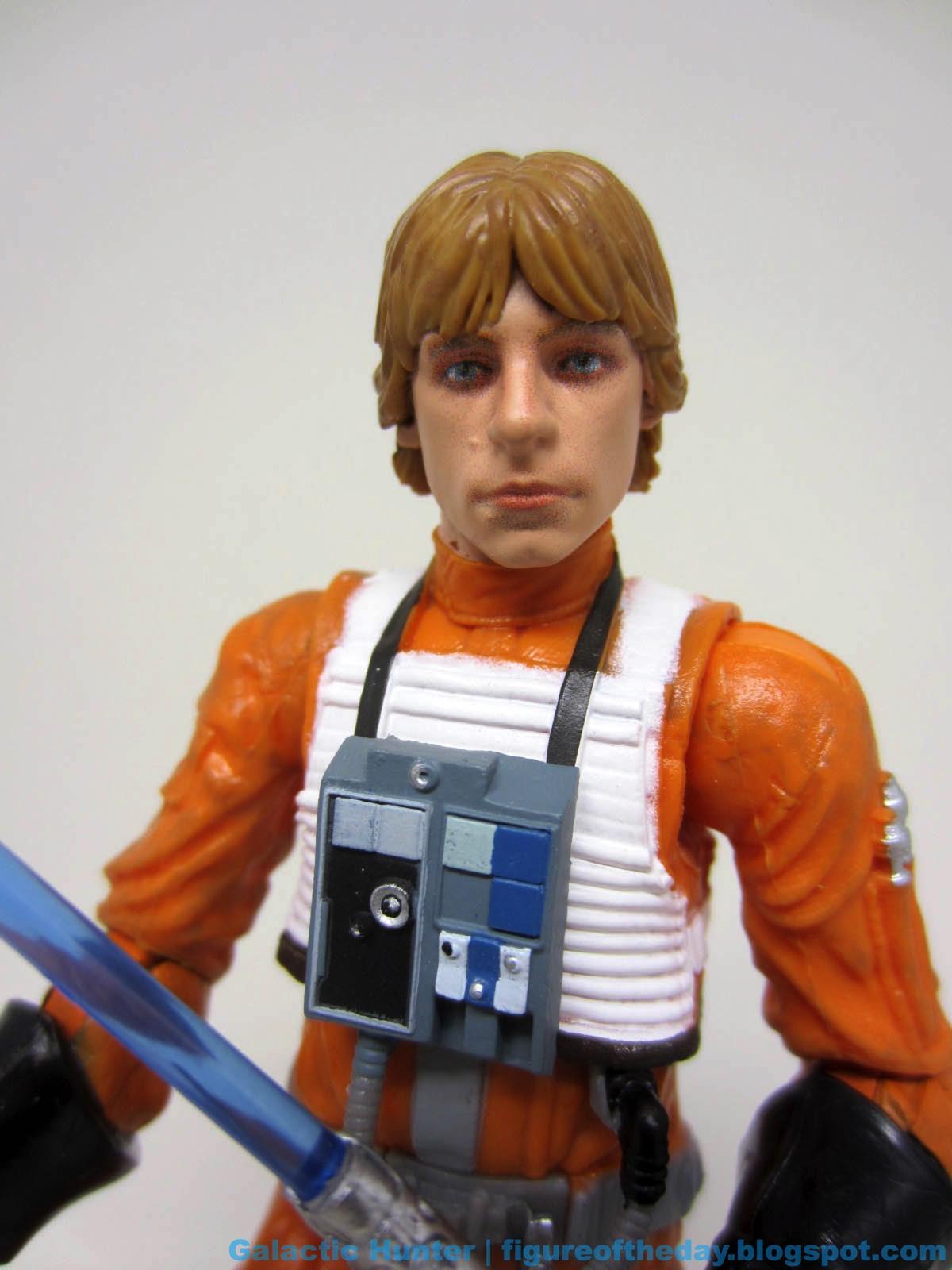 Star Wars The Black Series Archive Luke Skywalker in X-Wing Gear HASBRO Action