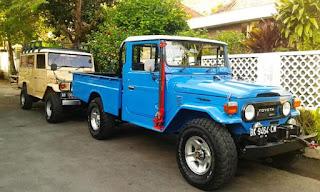 Dijual HJ45 Diesel 1980 Surat Tembus ... Call/WA 0811310503