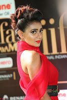 Apoorva in a Stunning Tight Leg Split Sleeveless Red Gown at IIFA Utsavam Awards 13.JPG