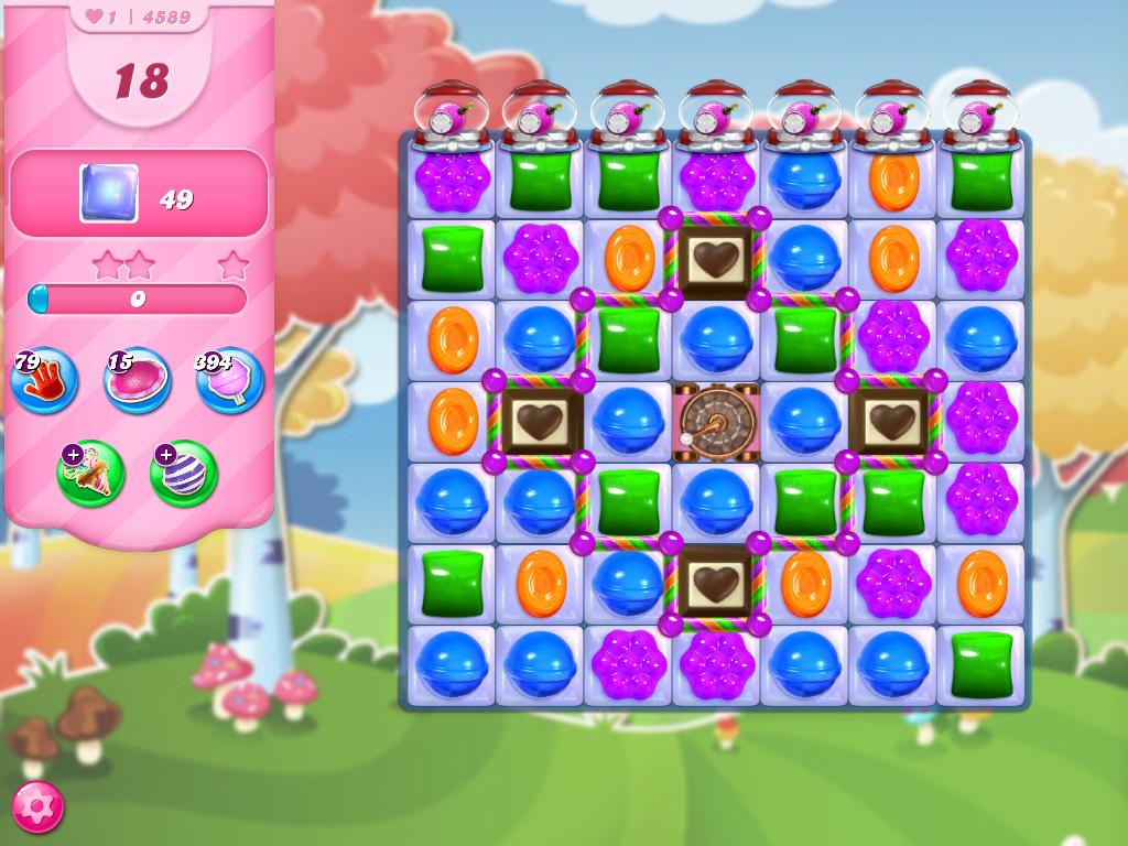 Candy Crush Saga level 4589