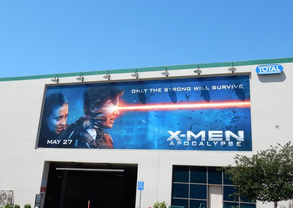 X-Men Apocalypse Jean Grey and Cyclops billboard