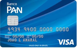 Cartão PAN Visa Nacional