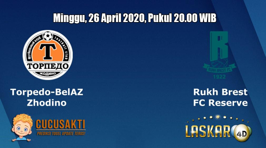 Prediksi Torpedo Zhodino VS Rukh Brest 26 April 2020