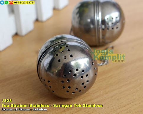 Tea Strainer Stainless - Saringan Teh Stainless