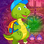 Games4King Baby Dino Escape Walkthrough