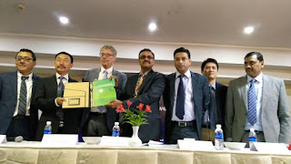 (L-R) Mr Martin Ma, Mr Shu Xuechang_ Mr Nico Roozen_ Mr N Dharmaraj_ Dr Shatadru Chattopadhayay_ Mr Henry Heyneardhi_ Dr Jayaram