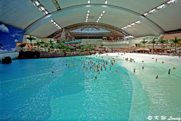 Seagaia Ocean Dome Interior