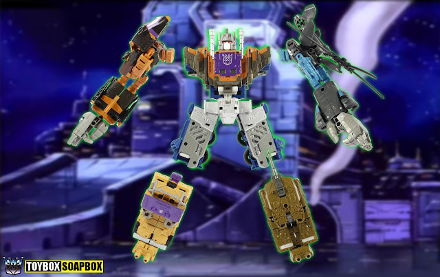 unite warriors bruticus takara transformers