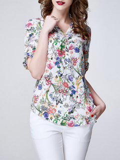 https://www.stylewe.com/product/multicolor-floral-printed-v-neck-half-sleeve-blouse-57082.html