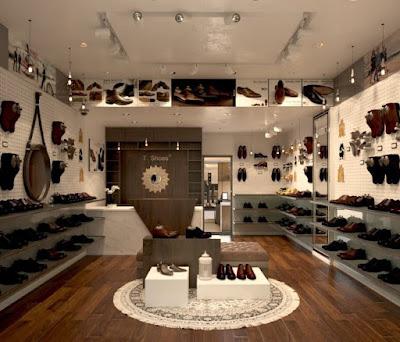 DỊch vụ thiết kế shop thời trang hiện đại- Thiết kế shop thời trang giày dép nam đẹp