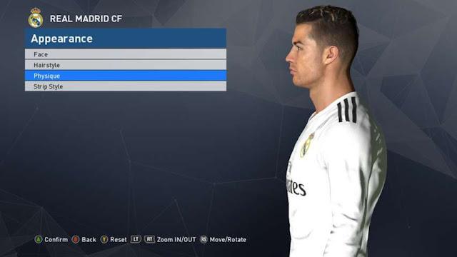 Cristiano Ronaldo New Face PES 2017