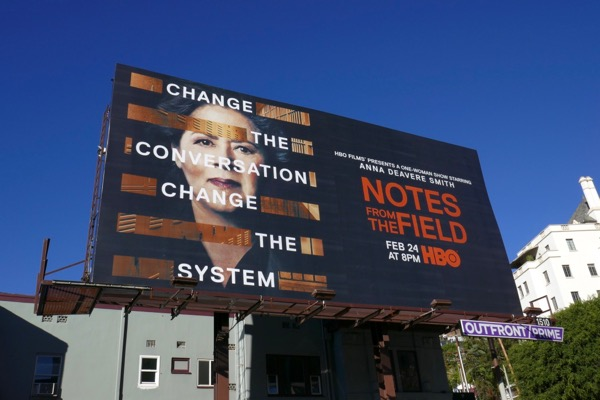 Notes from the Field TV movie billboard
