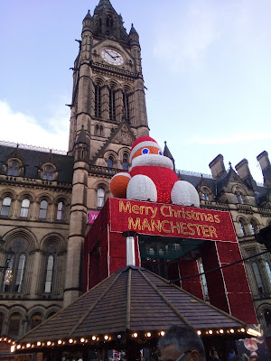 Inflatable Santa Christmas Markets