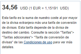 PayPal, Cambio, divisas, pagos, tutorial