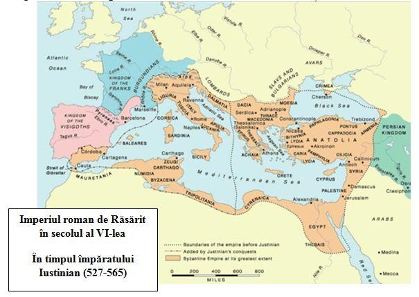 Imperiul Roman De Rasarit Sec VI