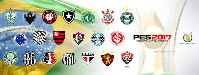 PES 2017 tendrá en exclusiva la liga brasileña