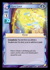 My Little Pony Epic Loot Equestrian Odysseys CCG Card