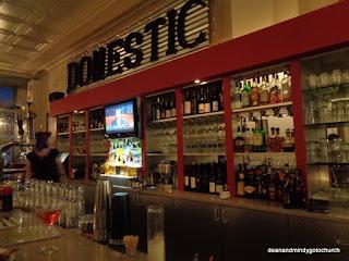 bar at Domestic near Shepherd University