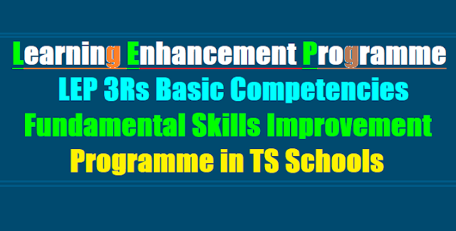 60 Day LEP 3Rs Basic Competencies,Fundamental Skills Improvement Programme,LEP