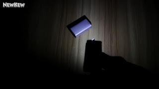Membuat Senter LED Terang dari Baterai 9v Bekas