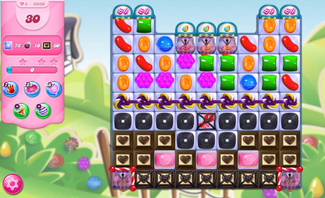 Candy Crush Saga level 6960