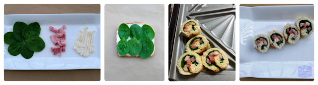 receta Sushi-sándwich de espinacas Breville
