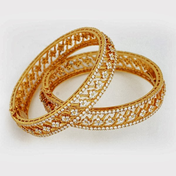 Bangles With Price: Latest Gold Bangles Design 2014 For Women