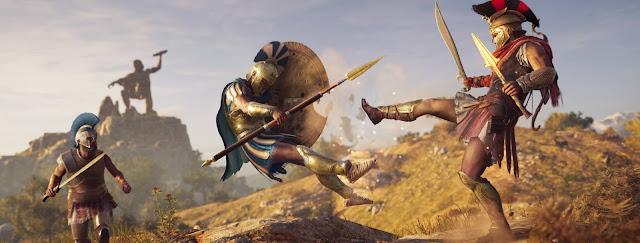 Assassin's Creed Odyssey é uma aventura épica pela Grécia Antiga