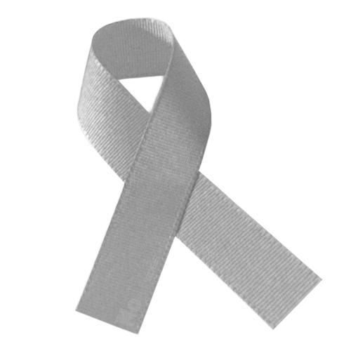 Lazo del color plata o gris