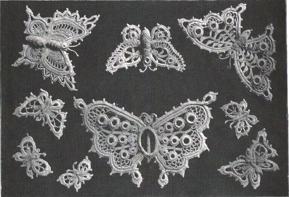 antyczne koronki szydelkiem